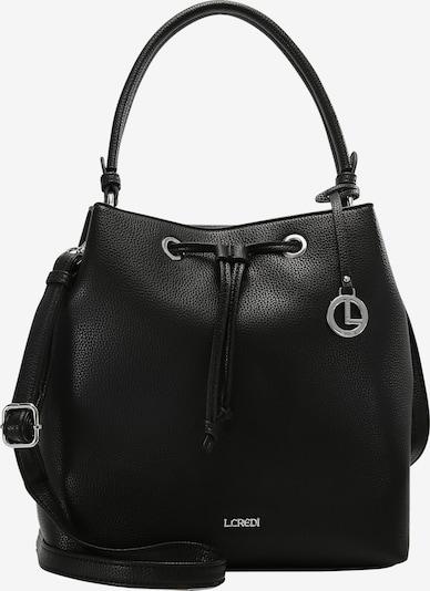 L.CREDI Hobo Ebony Hobo in schwarz, Produktansicht
