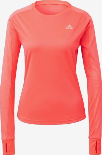 ADIDAS PERFORMANCE Shirt 'Own the Run' in rosa / weiß, Produktansicht