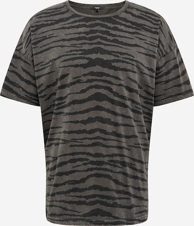 tigha Tričko 'Arne' - šedobéžová / antracitová, Produkt