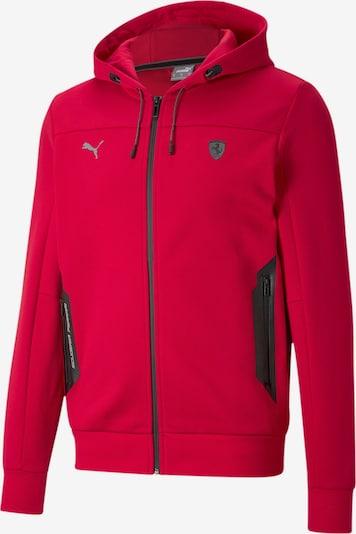PUMA Sportsweatvest 'Scuderia Ferrari' in de kleur Rood / Zwart, Productweergave