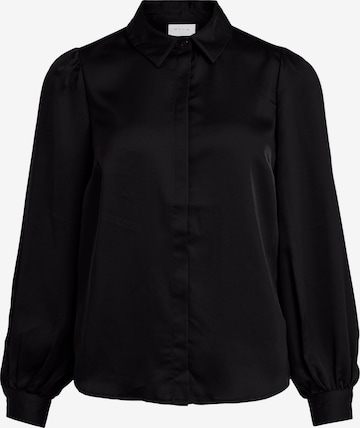 VILA Bluse in Schwarz