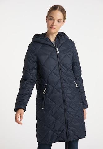 DreiMaster Maritim Between-Seasons Coat in Blue