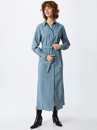 Another Label Kleid 'Anne Mei' in pastellblau, Modelansicht