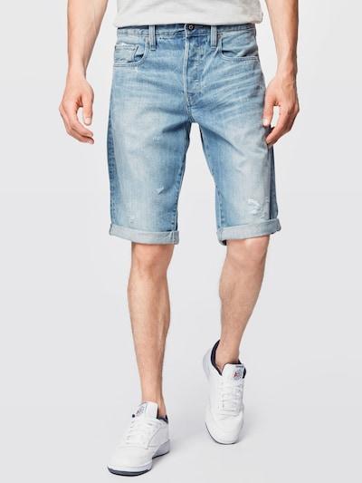 G-Star RAW Džinsi, krāsa - zils džinss, Modeļa skats