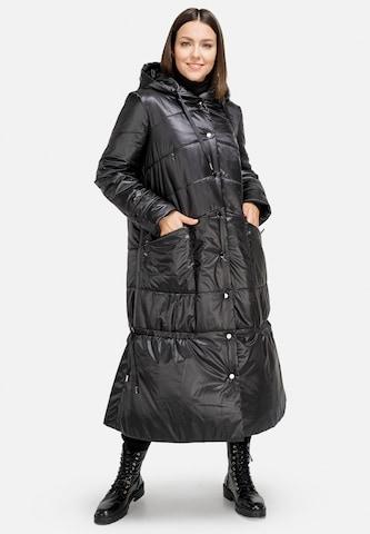 HELMIDGE Anorak Coat in Schwarz