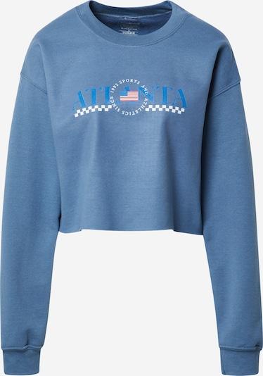 Daisy Street Sweatshirt 'CODI' in de kleur Blauw / Gemengde kleuren, Productweergave