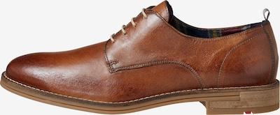 Pantofi cu șireturi LLOYD pe maro coniac, Vizualizare produs