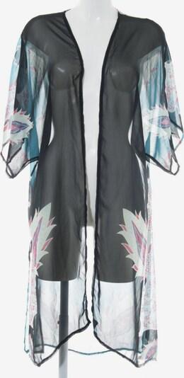 UNBEKANNT Kimono in XL in blau / karminrot / schwarz, Produktansicht