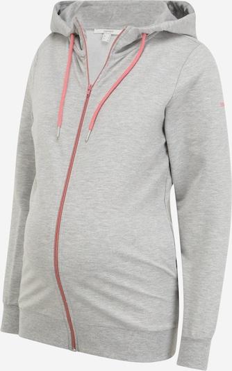 Esprit Maternity Sweat jacket in Light grey / Light pink, Item view
