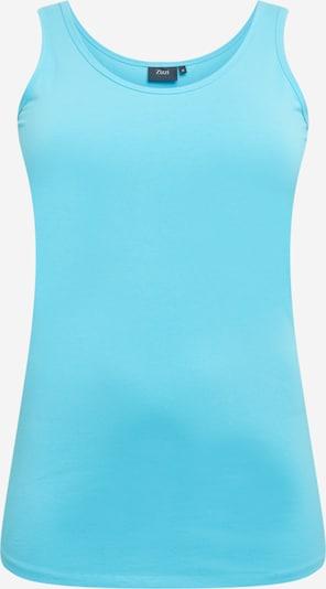 Zizzi Top in de kleur Turquoise, Productweergave
