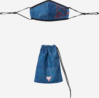 GUESS Shawl in blue denim / red / black, Item view