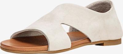 INUOVO Sandales en crème, Vue avec produit