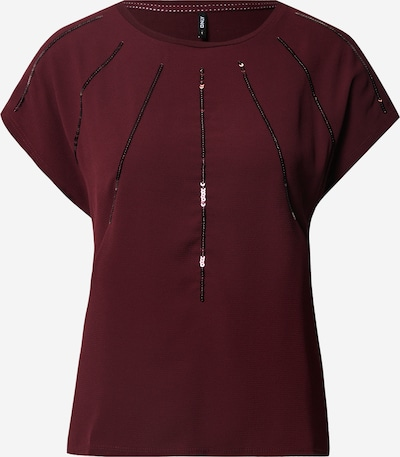 ONLY Shirt 'Louisa' in bordeaux, Produktansicht