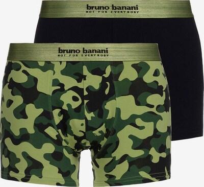 BRUNO BANANI Trunks in grün / schwarz, Produktansicht