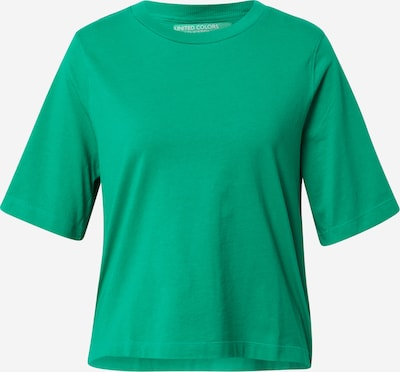 UNITED COLORS OF BENETTON Shirt in de kleur Groen / Donkergroen: Vooraanzicht