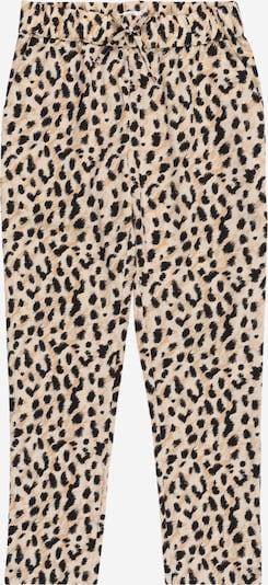 NAME IT Pantalon 'NKFVinaya' en beige / noir: Vue de face