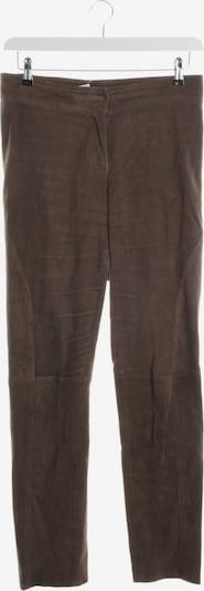Malo Lederhosen in XL in dunkelbraun, Produktansicht