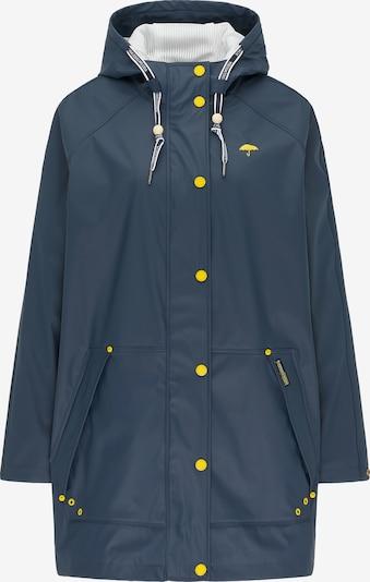 Schmuddelwedda Functionele mantel in de kleur Marine / Limoen, Productweergave