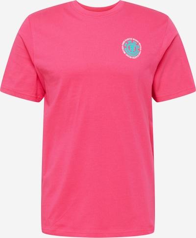 ELEMENT Funkčné tričko - tyrkysová / jasne červená / biela, Produkt