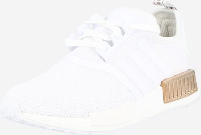 ADIDAS ORIGINALS Baskets basses 'NMD_R1' en or / blanc, Vue avec produit