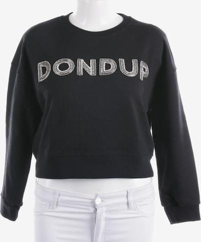 Dondup Sweatshirt / Sweatjacke in XS in schwarz, Produktansicht
