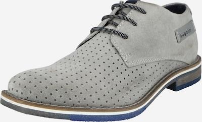 bugatti Chaussure à lacets 'Kamak' en gris clair, Vue avec produit