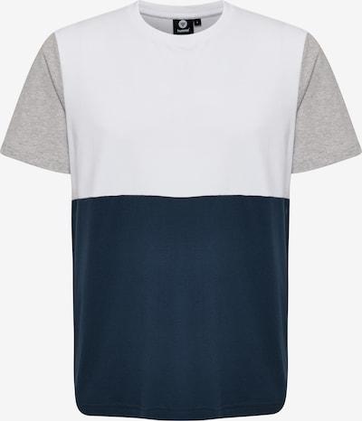 Hummel T-shirt S/S in blau, Produktansicht