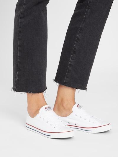 Sneaker low 'All Star Dainty' CONVERSE pe alb: Privire frontală