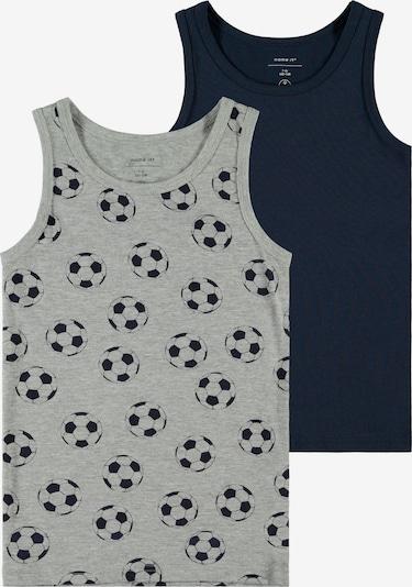 NAME IT Onderhemd in de kleur Nachtblauw / Grijs gemêleerd, Productweergave