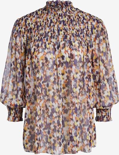 SET Bluse in hellblau / dunkelblau / gelb / orange / weiß, Produktansicht