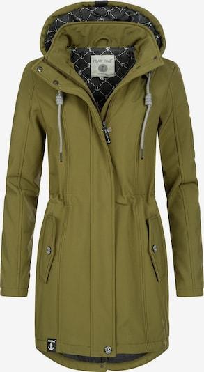 Striukė-paltas iš Peak Time, spalva – alyvuogių spalva, Prekių apžvalga