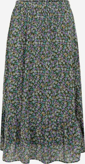 PIECES (Curve) Skirt 'Mola' in Light blue / Dark green / Purple / White, Item view