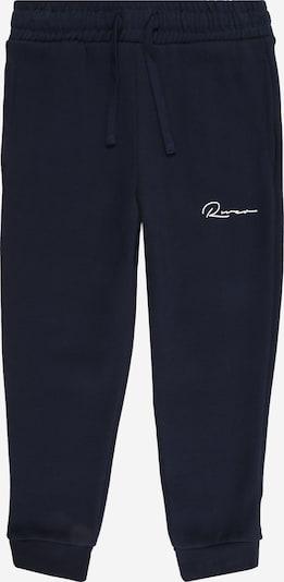 River Island Pantalon 'MULTIBUY' en bleu marine / blanc, Vue avec produit