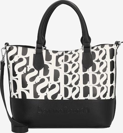 Desigual Shopper torba 'Cristalina ' u crna / bijela, Pregled proizvoda
