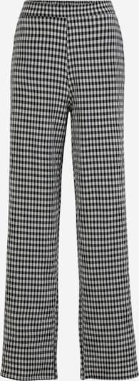 Pieces Tall Hose 'FIRUGGA' in schwarz / weiß, Produktansicht