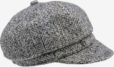 LOEVENICH Bonnet ' Tweed ' en noir, Vue avec produit