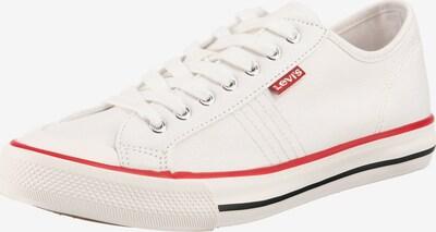 LEVI'S Sneaker 'Hernandez' in rot / weiß, Produktansicht