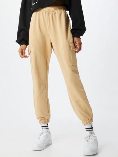 ONLY Pantalon 'Clara' en beige, Vue avec modèle