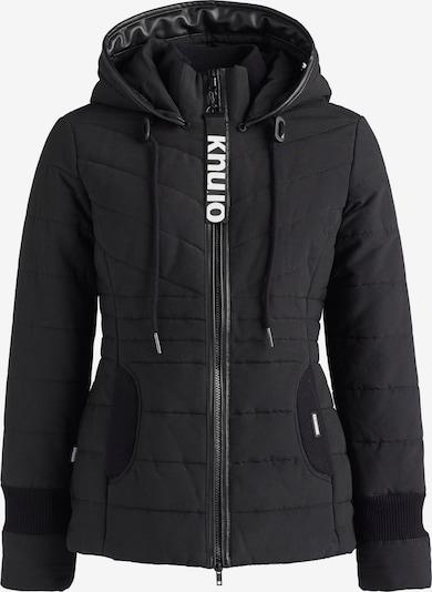 khujo Winterjas 'CORZ' in de kleur Zwart, Productweergave