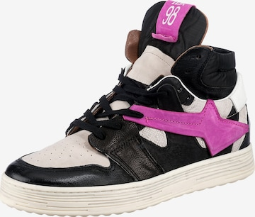 A.S.98 High-Top Sneakers in Black