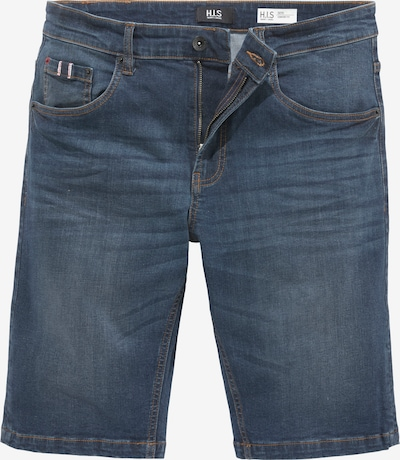 HIS JEANS Hose in dunkelblau, Produktansicht
