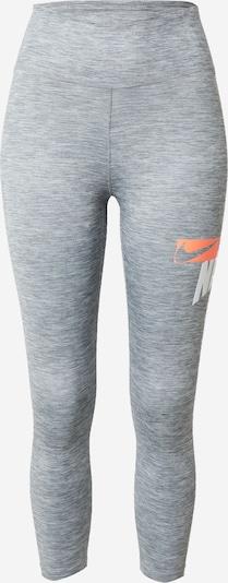 NIKE Sportovní kalhoty 'One' - šedý melír / korálová / bílá, Produkt