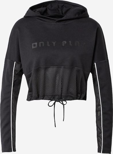 ONLY PLAY Sportsweatshirt 'JODINA' in schwarz, Produktansicht
