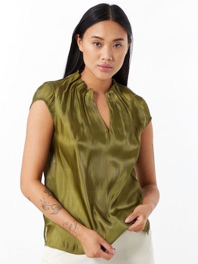 Bluză COMMA pe verde închis, Vizualizare model