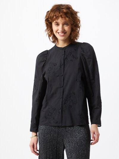 Maison 123 Bluse in schwarz, Modelansicht