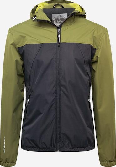 KILLTEC Sportjacke 'Sveti' in gelb / oliv / schwarz, Produktansicht