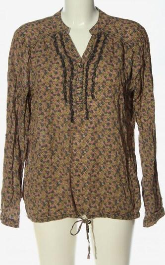 s'questo Hemd-Bluse in L in braun / pastellgelb / pink, Produktansicht