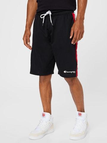 Champion Authentic Athletic ApparelHlače - crna boja