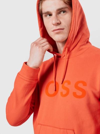 BOSS Casual Sweatshirt 'Zeefast' in de kleur Donkeroranje / Oranjerood, Productweergave