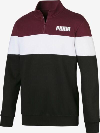 PUMA Sportsweatshirt in de kleur Rood / Zwart / Wit, Productweergave